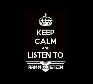 Обои на телефон спокойствие, rammstein, keep calm