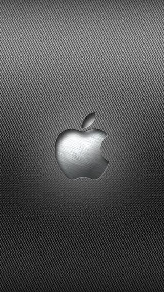Обои на телефон стальные, эпл, металл, логотипы, apple