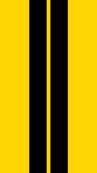 Обои на телефон черные, желтые, дорога