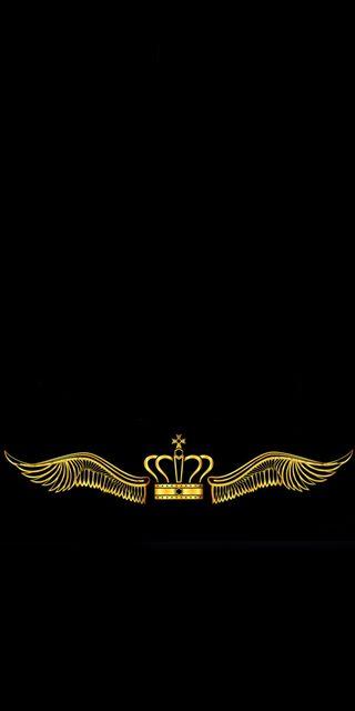 Обои на телефон правило, крылья, корона