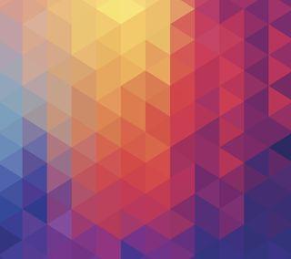 Обои на телефон треугольники, шаблон, текстуры, абстрактные, lg, g3 triangles, g3