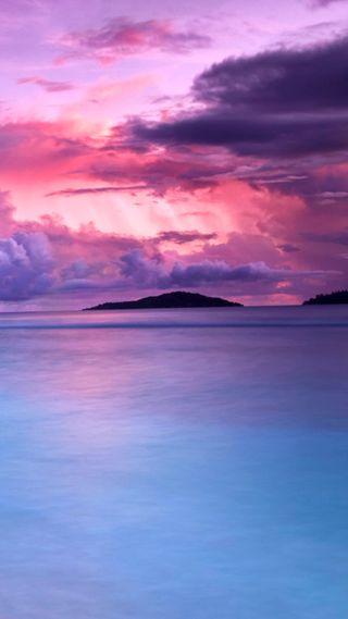 Обои на телефон остров, тропические, пляж