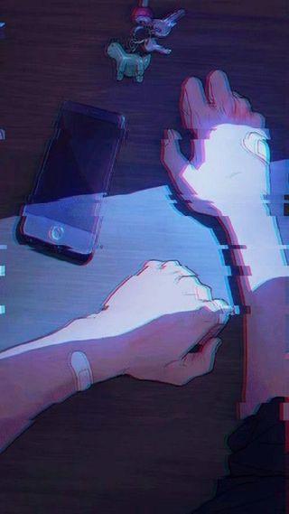 Обои на телефон песня, музыка, мальчик, грустные, вайб, аниме, анимационные