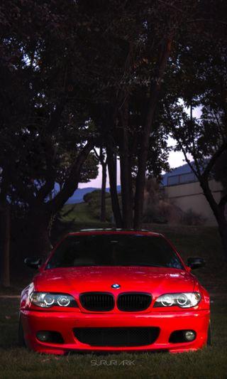 Обои на телефон германия, машины, красые, бмв, e46, bmw e46 red, bmw