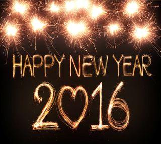 Обои на телефон год, счастливые, новый, happy-new-year, 2016