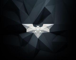Обои на телефон многоугольник, логотипы, бэтмен