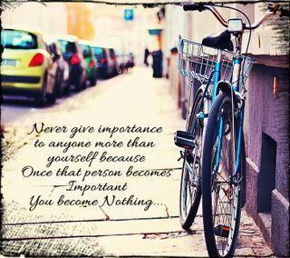 Обои на телефон чувства, повредить, одиночество, одинокий, грустные, высказывания, велосипед, importance lonely, importance