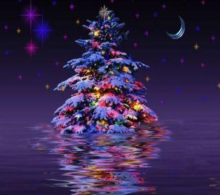 Обои на телефон пожелание, фон, рождество, приятные, новый, крутые, дерево, год, вид, hd, 2014
