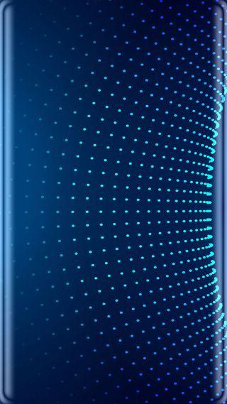 Обои на телефон точки, темные, синие, абстрактные