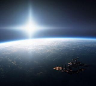 Обои на телефон корабли, космос