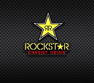 Обои на телефон энергетики, рок, логотипы, звезда, rockstar