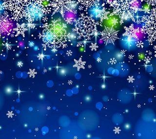 Обои на телефон праздник, фон, синие, рождество, декор, christmas decor