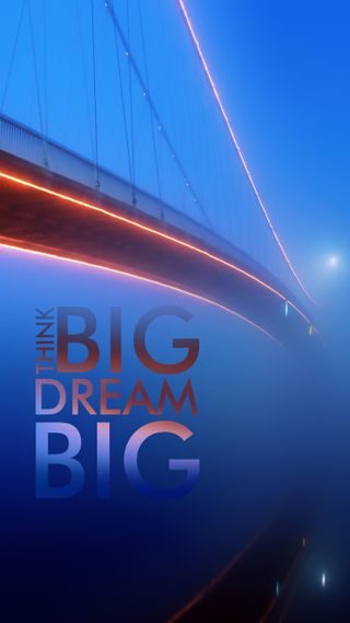 Обои на телефон думать, мечта, think big, dream big