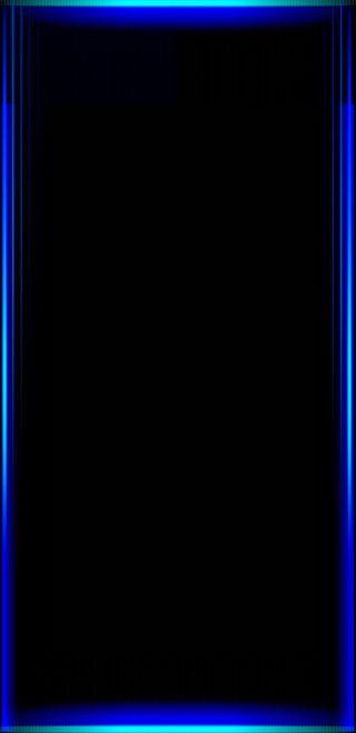 Обои на телефон galaxy, blue edges, черные, синие, красые, галактика, розовые, фиолетовые, грани, золотые, экран, оригинальные