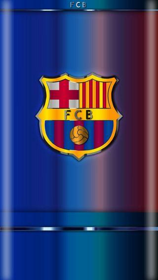 Обои на телефон футбольные клубы, барса, футбольные, футбол, логотипы, клуб, изгиб, грани, барселона