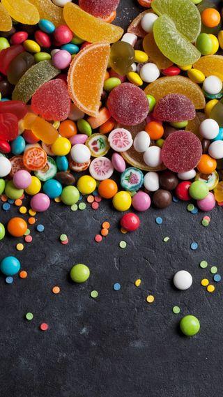 Обои на телефон сладости, конфеты, sandy
