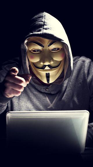 Обои на телефон анонимус, маска, fawkes