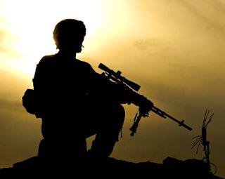 Обои на телефон снайпер, армия