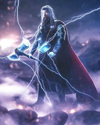 Обои на телефон гром, финал, тор, мстители, мощный, марвел, война, бог, бесконечность, point break, onlymarvel, marvel, god of thunder
