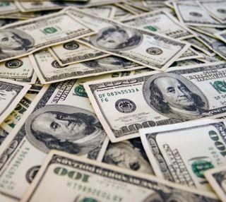 Обои на телефон макро, доллары, деньги, franklin, benjamin