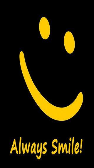 Обои на телефон смайлики, взгляд, приятные, всегда, always smile