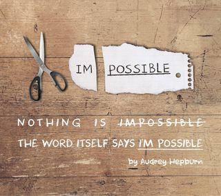 Обои на телефон шрифт, цитата, слово, ничего, невозможно, возможный, tannhauser, i am possible