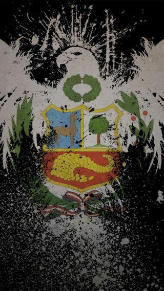 Обои на телефон щит, перу, орел, pais, escudo peruano, aguila escudo peru