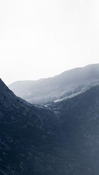 Обои на телефон мокрые, туман, природа, погода, норвегия, дождь, горы, rain mountain, gloom