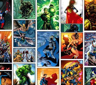 Обои на телефон герои, марвел, marvel heroes, cw