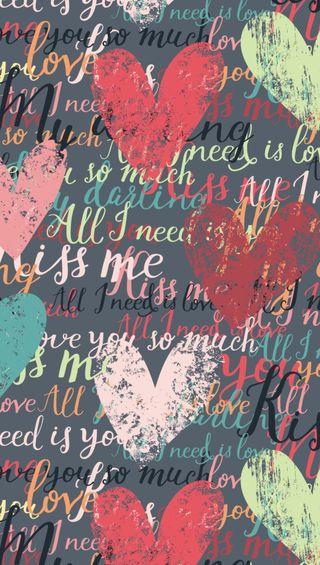 Обои на телефон слова, сердце, романтика, любовь, love