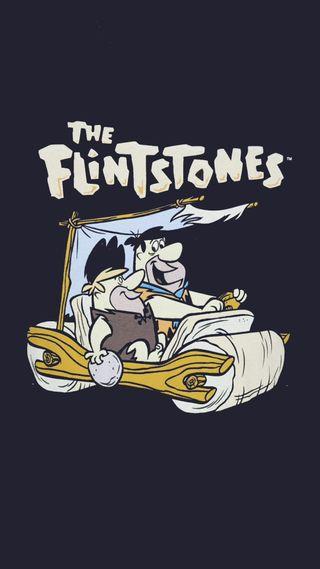 Обои на телефон тв, мультфильмы, машины, the flintstones, fred, flintstones, barney