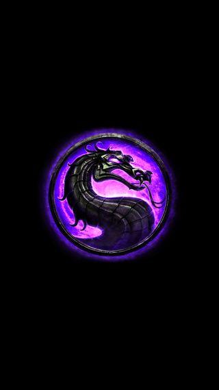 Обои на телефон фиолетовые, тема, мортал, логотипы, кофе, комбат, игра, дракон, галактика, бой, mk purple, galaxy, dragon