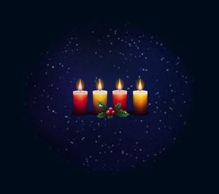 Обои на телефон свеча, свет, рождество, дизайн, candle light 2