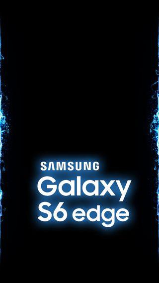 Обои на телефон синие, самсунг, грани, галактика, волны, samsung, s6edge, s6, galaxy