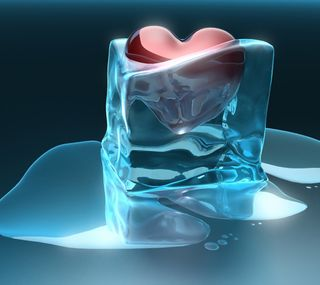 Обои на телефон холод, сердце, cold hart