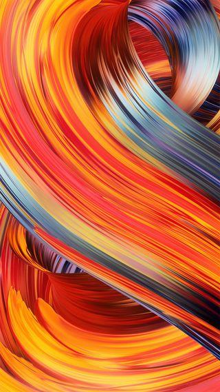 Обои на телефон микс, цветные, сяоми, стандартные, редми, оранжевые, ми, красые, красочные, желтые, абстрактные, xiaomi, redmi, miui, mi mix 2