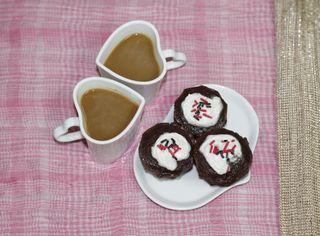Обои на телефон торт, сердце, любовь, кофе, love, breakfast