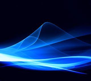 Обои на телефон энергетики, синие, поток, абстрактные, energy flows