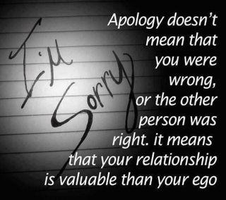 Обои на телефон 2013, apology, ego, sorry, value relationship, крутые, цитата, жизнь, высказывания, отношения