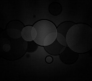 Обои на телефон круги, шаблон, черные, белые, абстрактные