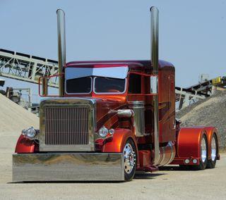 Обои на телефон грузовик, красые, америка, peterbilt