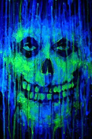 Обои на телефон панк, череп, синие, рок, омг, музыка, зеленые, группа, гараж, misfits