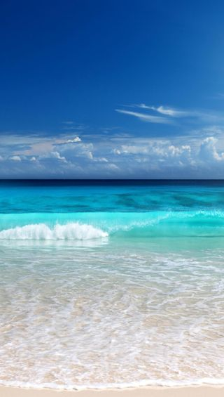 Обои на телефон пляж, природа, hd