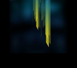 Обои на телефон черные, формы, темные, текстуры, самсунг, желтые, андроид, абстрактные, samsung, nexus, android, abstract shape
