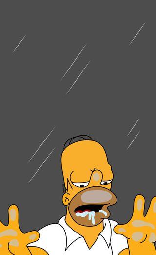 Обои на телефон симпсоны, лиса, гомер, барт, желтые, the simpson, springfield, homero simpson, dibujos animados