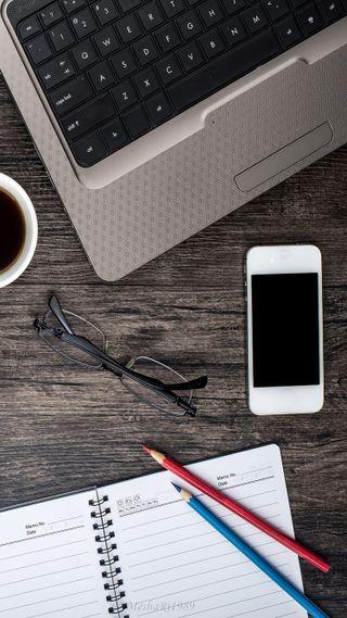 Обои на телефон кофе, эпл, айфон, meshari, iphone, apple