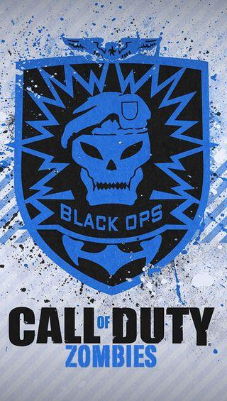 Обои на телефон черные, логотипы, call of duty black ops, call of duty black o