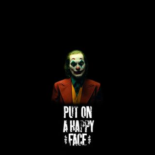 Обои на телефон черные, хэллоуин, феникс, счастливые, смех, лицо, джокер, амолед, oneplus, joker laugh, joker joaquin phoenix, joker happy face, amoled, 2019