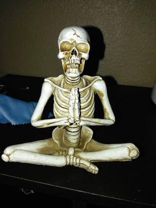 Обои на телефон скелет, молитва, кости, господин, dear lord