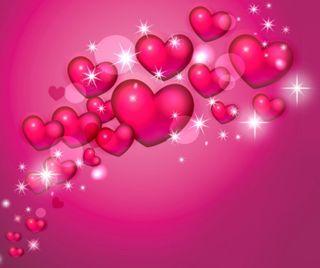 Обои на телефон день, шаблон, сердце, розовые, любовь, валентинки, pattern valentines, love, 960x800px
